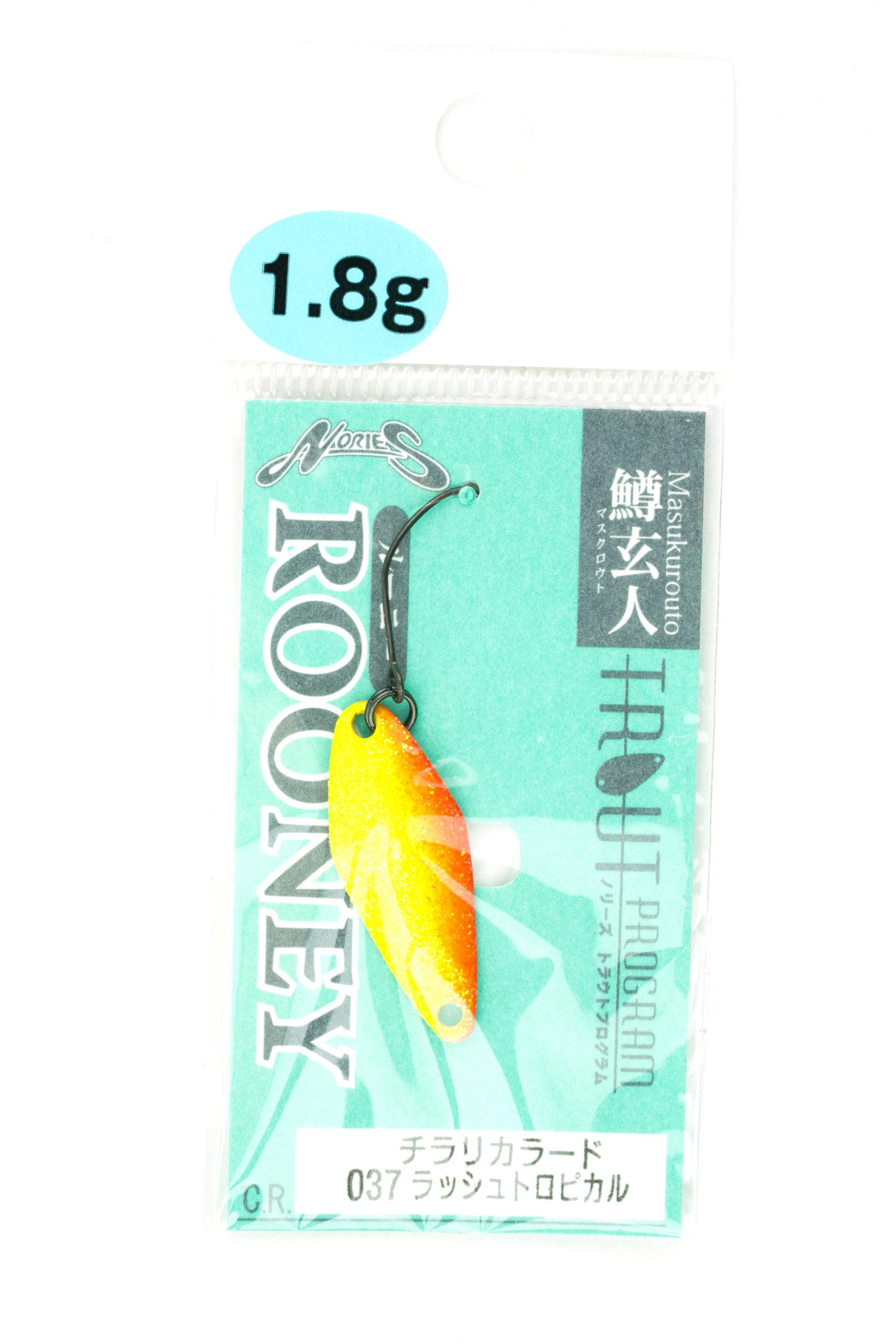 Nories Masukurouto Rooney 1,8g 037
