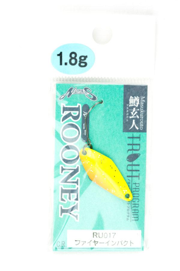 Nories Masukurouto Rooney 1,8g RU017