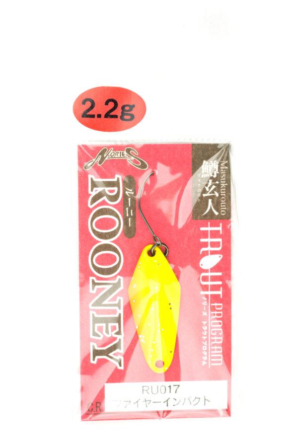 Nories Masukurouto Rooney 2,2g RU017