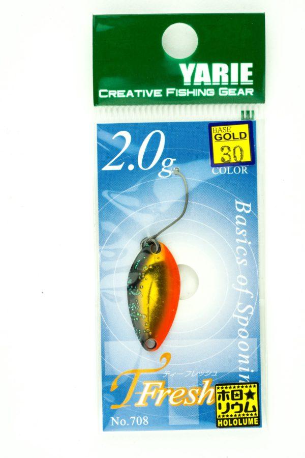 YarieT-Fresh 2,0g GOLD 30