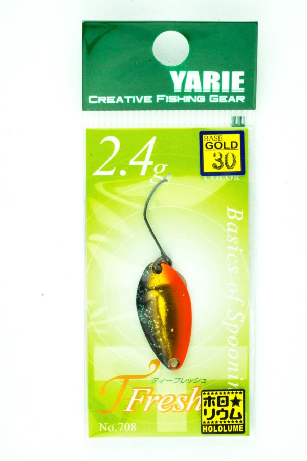 YarieT-Fresh 2,4g GOLD 30