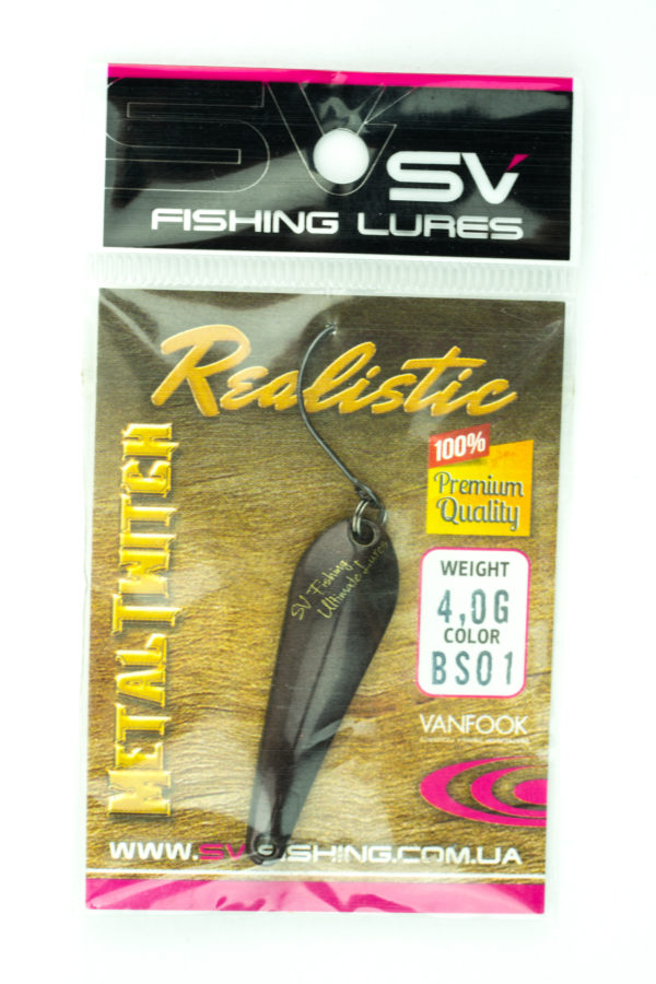 SV Lures Metal Twitch 4g BS01