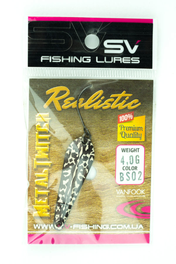 SV Lures Metal Twitch 4g BS02