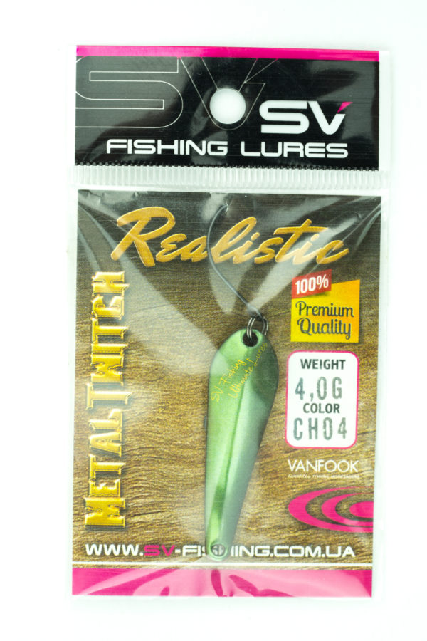 SV Lures Metal Twitch 4g CH04