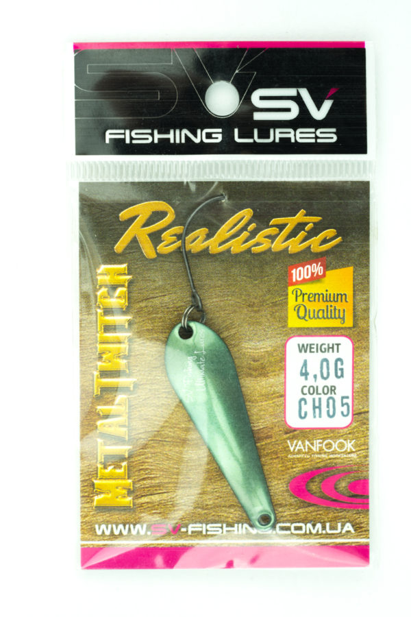 SV Lures Metal Twitch 4g CH05