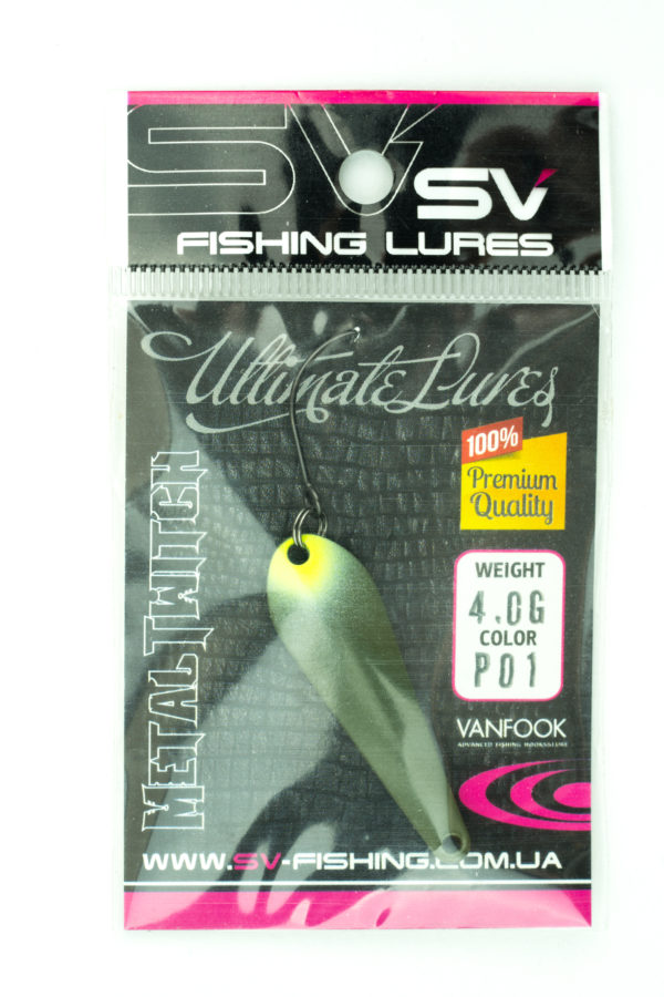 SV Lures Metal Twitch 4g P01