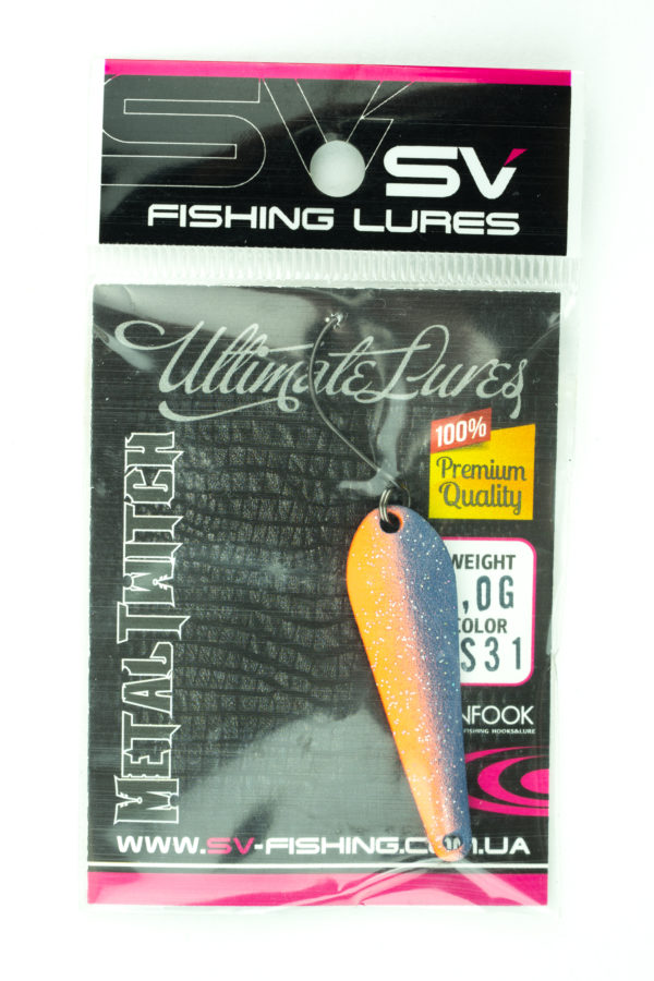 SV Lures Metal Twitch 4g PS31
