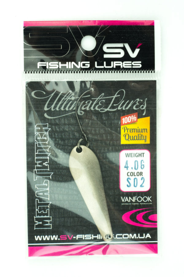 SV Lures Metal Twitch 4g S02
