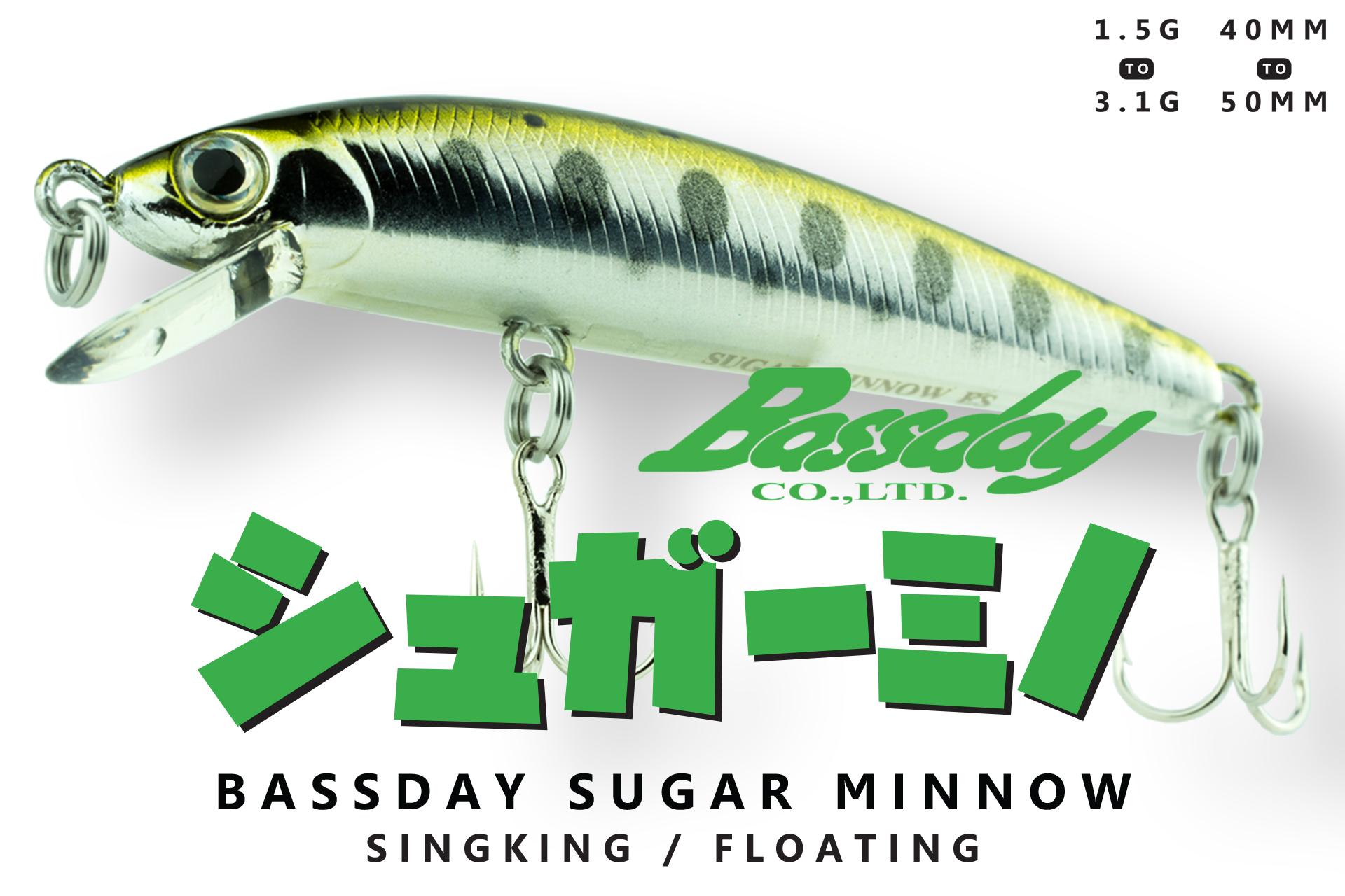 Bassday Sugar Minnow