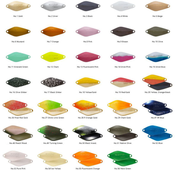 ValkeIN Hi Burst colors