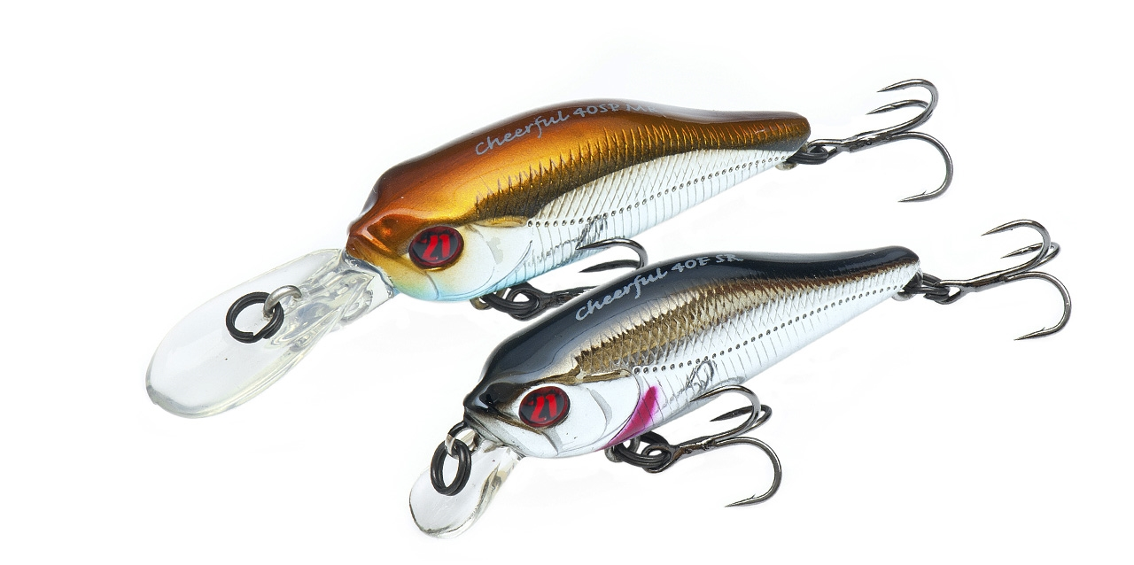 Trout fishing lures Pontoon21 Cheerful