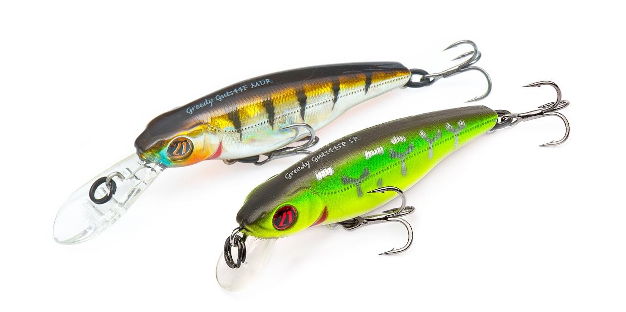 Trout fishing lures Pontoon21 GreedyGuts