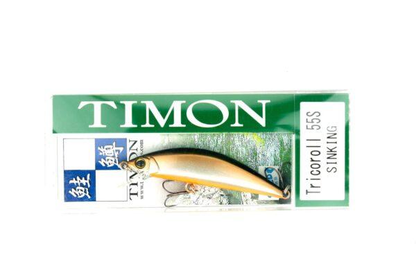 Jackall Timon Tricoroll 55S Silver & Black