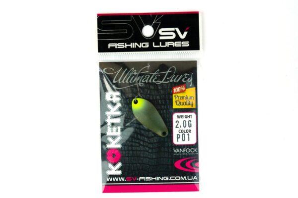 SV Fishing Lures Koketka 2.0g P01