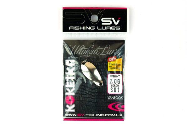 SV Fishing Lures Koketka 2.0g S01