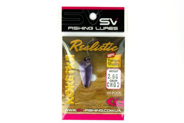 SV Fishing Lures Koketka 2.6g CH02