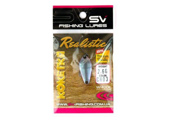 SV Fishing Lures Koketka 2.6g CH03