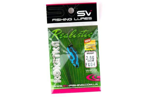SV Fishing Lures Koketka 2.6g FG04