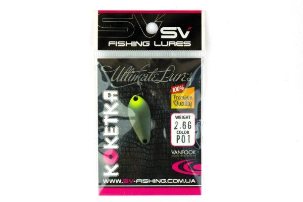 SV Fishing Lures Koketka 2.6g P01