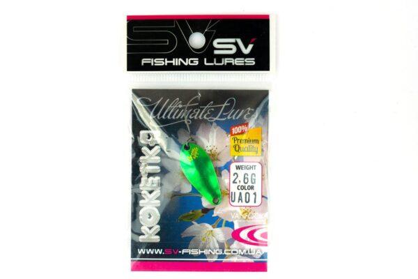 SV Fishing Lures Koketka 2.6g UA01